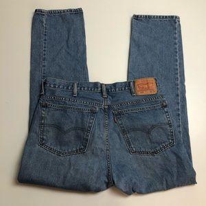 Vintage Levi's 516 Men's Straight Cut Jeans 38x32